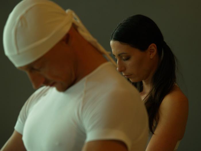 Robert Hohn in Eva Lina Rotar; Foto: Benjamin Skaleras