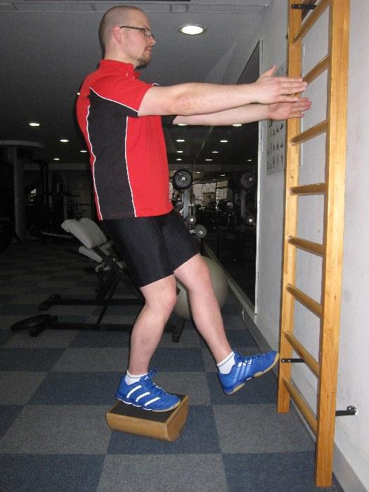 5: stoja na eni nogi (levo – desno)