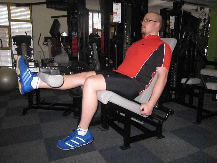 9: izteg kolena
