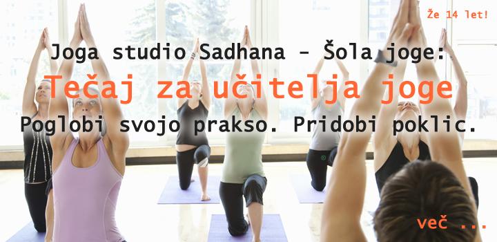 Postani učitelj joge