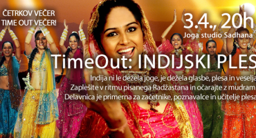 Četrtkov Time Out: Indijski plesi