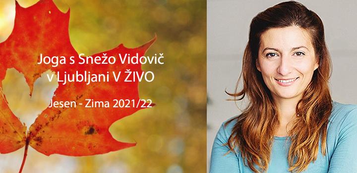V ŽIVO: Joga v Ljubljani in Kranju