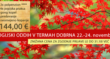 JOGIJSKI ODDIH, 22.-24.11.