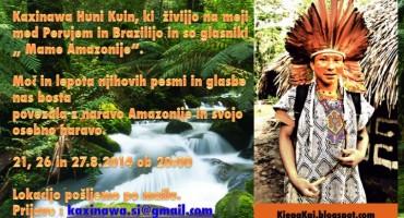 Indijanci v Sloveniji