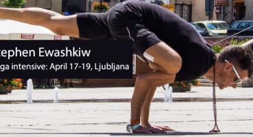 JOGA DELAVNICA Z GOSTOM: STEPHEN EWASHKIW 17.-19.4.