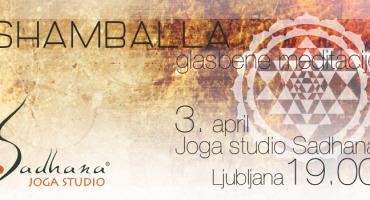 3D GLASBENA MEDITACIJA S SHAMBALLO, 3.1.2015, 19h