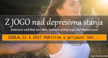 Z JOGO NAD DEPRESIJO, IZOLA 11.3.