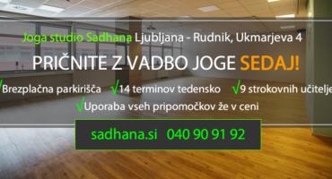 JOGA STUDIO SADHANA: ZAČNITE Z JOGO! PROGRAMI 2019 …