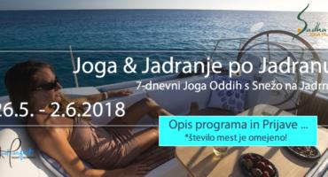 Joga&Jadranje po Jadranu