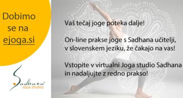 Video joga praksa doma – ejoga.si